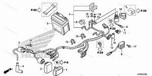 Honda Atv 2017 Oem Parts Diagram For Wire Harness