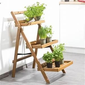 Etagere De Jardin Pour Plantes : tag re pour plantes aromatiques aldi belgique ~ Teatrodelosmanantiales.com Idées de Décoration