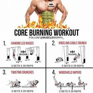 Core Burning Workout Abs Workout 6 Pack Workout Musclemorph S     Musclemorphsupps Com