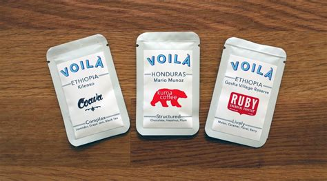 · voila instant coffee voilà is a company from oregon that got their start in 2016 via a kickstarter campaign. Coffee Design: Voilà Coffee In Bend, Oregon