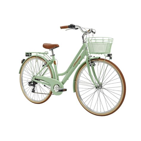 Sieviešu velosipēds Adriatica Retro Lady 2020 Krāsa Zaļa Izmērs 45 cm