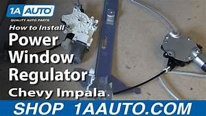 How To Install Replace Rear Power Window Regulator 2006