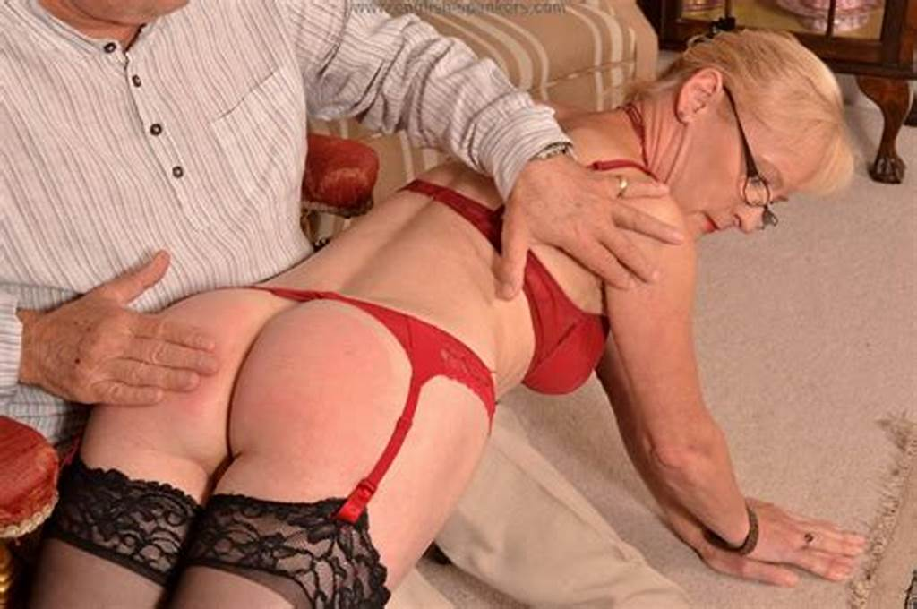 #Mature #Milf #Mary #Spanked #And #Paddled #In #Stockings