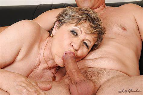 Blowjobs Blow Job Licking Blowjob Having Hungry Fatty Granny Getting A Blows And Let Fingered