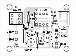 Mobile Phone Detector Using Lm358