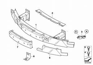 Bmw M6 Cover  Front  Trim  Support  Bumper  Body