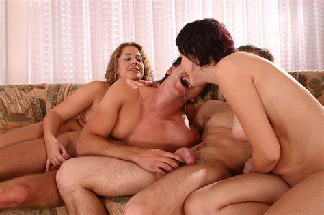 Group Slutty Wenches Have Some Bisexual Fun