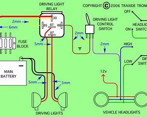 Driving Light Relay Wiring Diagram