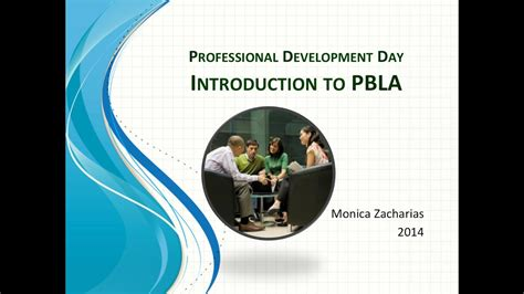 Introduction to the PBLA - YouTube