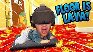 CAN BABY SURVIVE THE FLOOR IS LAVA CHALLENGE?! | Baby ...