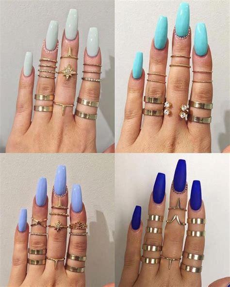 Diseño de uñas piel morena / diseño de uñas para piel morena clara / los mejores tonos. #acrylicnails | Uñas para piel morena, Manicura de uñas, Uñas acrilicas azules