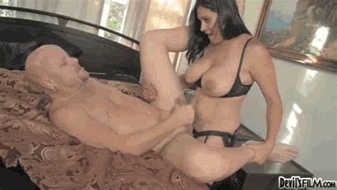 Spunky Granny Milf With Hubby Long Dildo