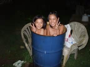 ドラム缶+風呂+女:jsドラム缶風呂おっぱい投稿 ...