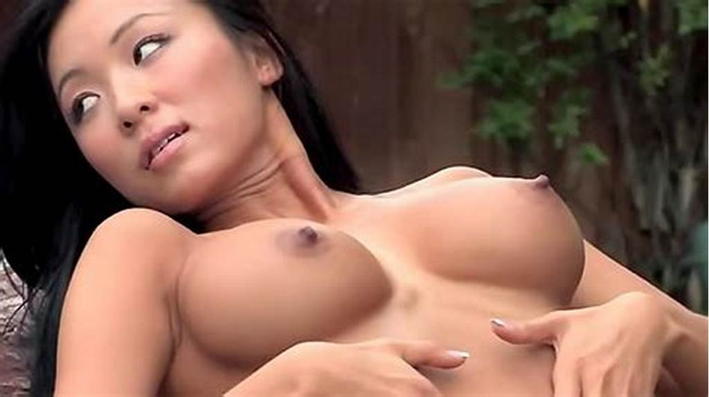 #Hot #Asian #Playboy #Girl #Outdoors