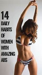 15 Daily Habits Of Women With Amazing Abs By  Ud83d Udc97nunita Nice Ud83d Udc97