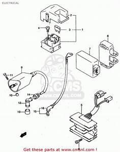 Suzuki Gz125 1999  X  Electrical