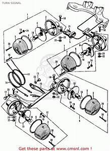 Wiring Diagram 1972 Honda Cl70