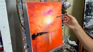 Cours De Japonais Youtube : cours de peinture au couteau coucher de soleil sur l 39 ocean knife painting youtube dessin ~ Maxctalentgroup.com Avis de Voitures