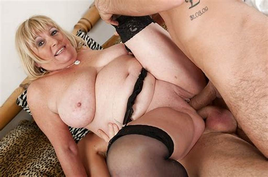 #Fatty #Mature #Blonde #Has #Some #Double #Penetration #Fun #With