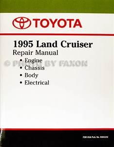 1995 Toyota Land Cruiser Wiring Diagram Manual Original