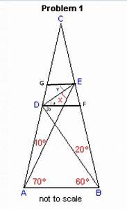 Triangle - Find X In Below Diagram Geometry