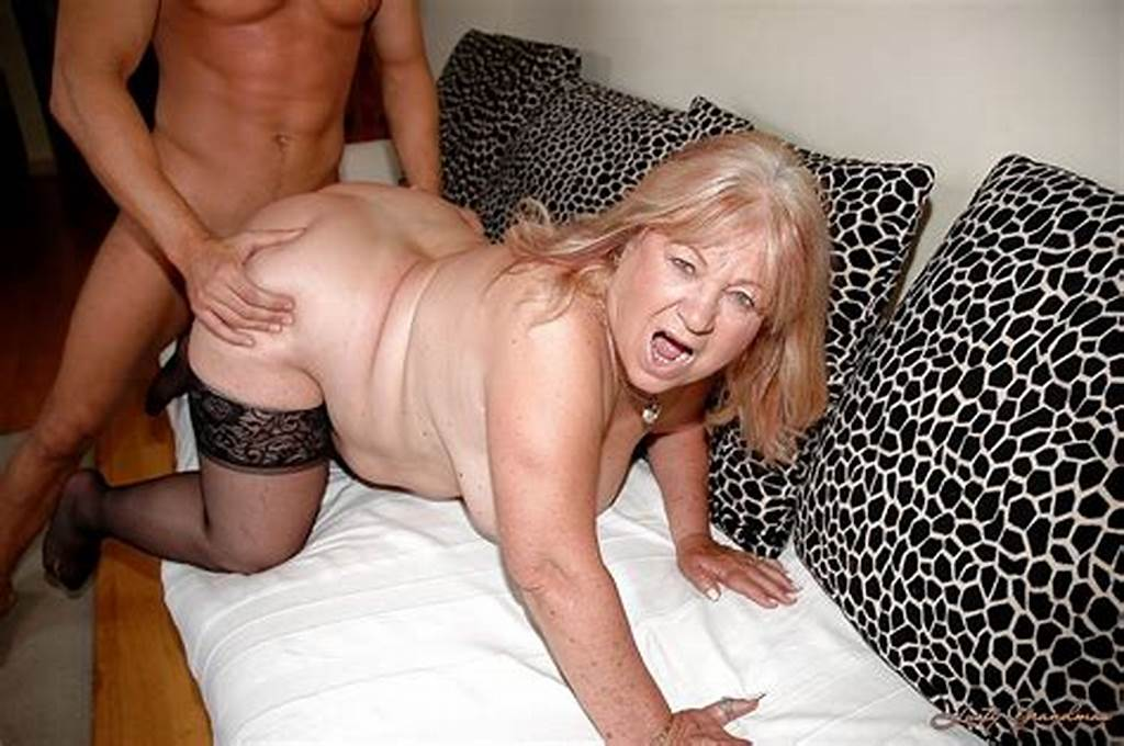 #Chubby #Granny #In #Stockings #Gives #A #Blowjob #And #Gets #Fucked