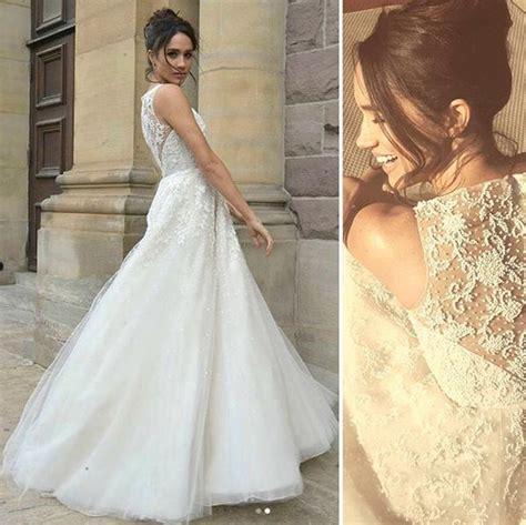 Dabei ist das gar nichts im. Hochzeitskleid Meghan Markle - Friseur