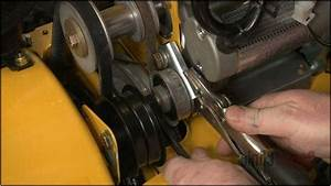 How To Replace Belts On Cub Cadet Snowblower