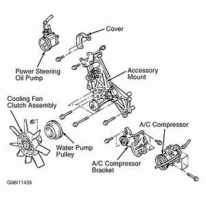 2001 Mitsubishi Montero Serpentine Belt Routing And Timing