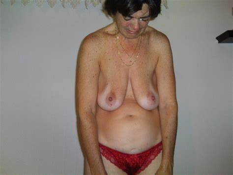 Aunt Saggers Hanging Titties High Pierced Hanging Breasted 4