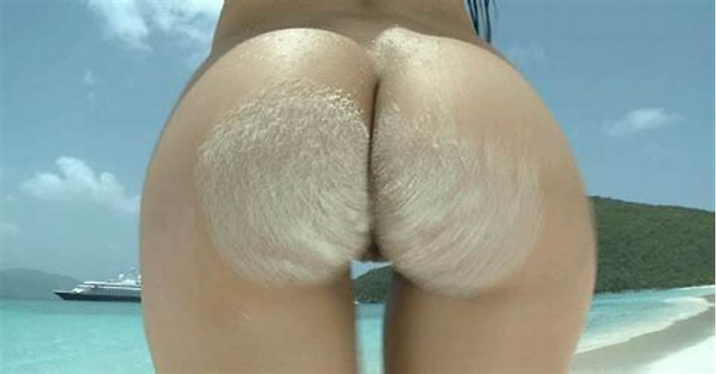 #Juicy #Ass #Smeared #With #Sand #Shaking