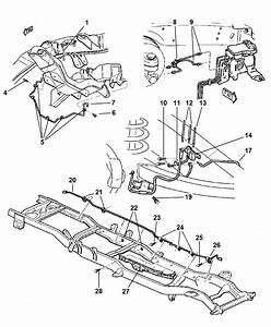 1998 Dodge Ram 2500 Quad  U0026 Club Cab Lines  U0026 Hoses  Brake