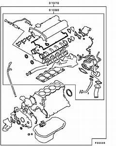 Engine Overhaul Gasket Kit For 2001
