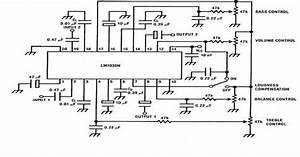 Audio Tone Control Circuit