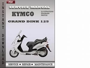 Kymco Grand Dink 125 Service Repair Manual Download