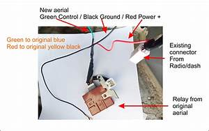 33 Power Antenna Wiring Diagram