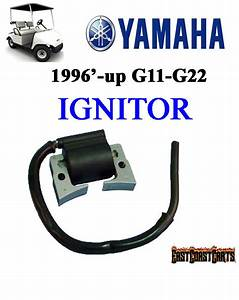 Yamaha Golf Cart Ignitor Ignition Coil G11  G16  G20  G21