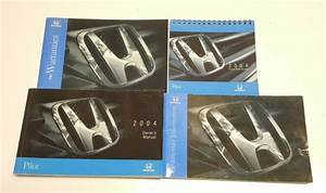 2004 Honda Pilot Owners Manual User Guide Book V6 3 5l Ex