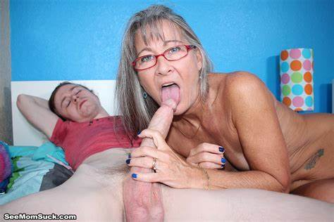 Grandma Takes A Big Dick And Facialed In Her Mouth
