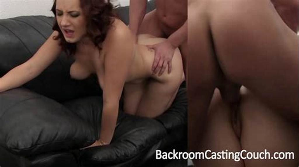 #Brenna #Auditions #For #A #Job #At #Backroom #Casting #Couch #On