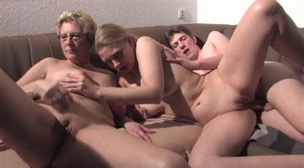 #Mature #And #Young #Couples #Have #Threesome #Sex