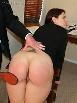 Her plump ass spanked