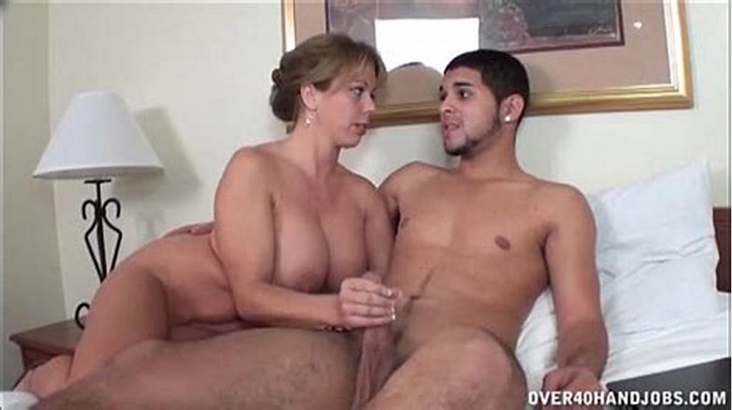 #Naughty #Milf #Jerks #Off #A #Naked #Young #Dude