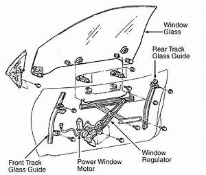 Lexus Is How To Replace Your Power Window Actuator