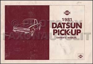 1981 Datsun Pickup Truck Repair Shop Manual Original