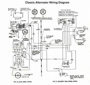 Gm Alternator Wiring Diagram Internal Regulator New Gm