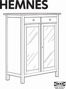 Hemnes Linen Cabinet Instructions