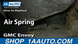 How To Replace Gen-ii Air Spring 02-06 Gmc Envoy Xl