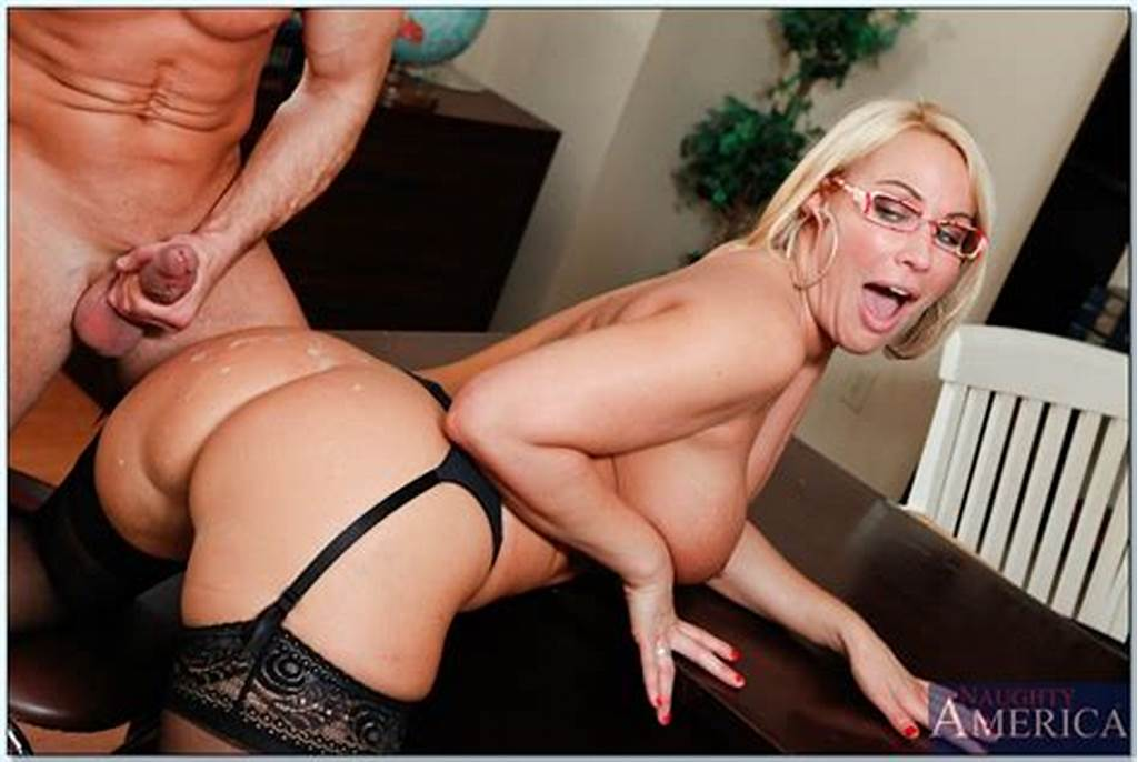 #Busty #Teacher #Mellanie #Monroe #Gives #A #Blowjob #And #Gets