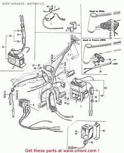 Honda S90a Super Sport General Export Wire Harness